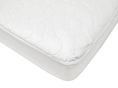 American Baby Company Waterproof Fitted Crib and Toddler Protective Mattress Pad Cover by American Baby Company that we recomend personally.