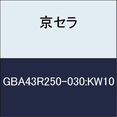 京セラ 切削工具 チップ GBA43R250-030:KW10 B079YCJKSG