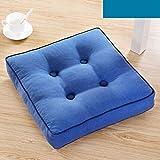 MEIZOKEN Tatami Pillow Thicker Back Cushions Seats Fabric Travel Wedding Sofa Throw Cushion Seat Cushion in Chair