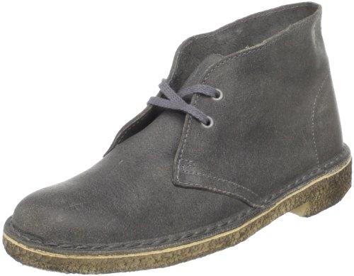 Grey Desert Cuir Clarks Distressed Boot Originals Botte Xawx564q