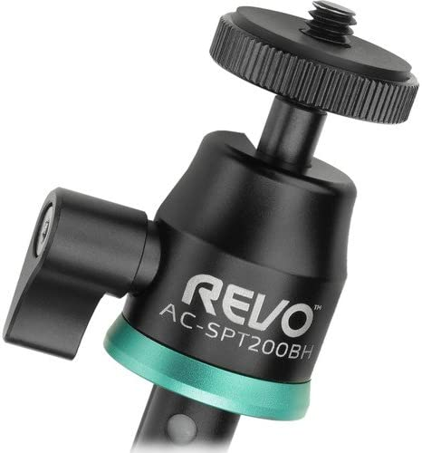 4 Pack Revo Action Cam Shooting Pole with Ball Head