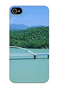 Fireingrass Case Cover For Iphone 4/4s - Retailer Packaging Wonderful Scenery Hokkaido Protective Case