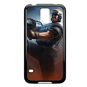 Graves-003 League of Legends LoL For Case Ipod Touch 4 Cover - Plastic Black