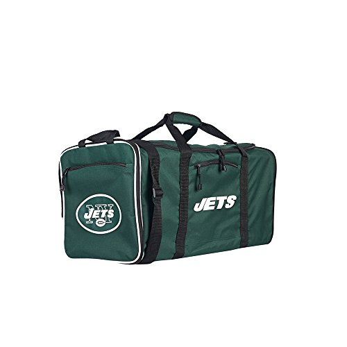 Amirshay, Inc. New York Jets NFL Steal Duffel Bag (Green) by Amirshay, Inc.