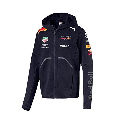 Red Bull Formula 1 Aston Martin 2018 Men's Team Blue Hooded Sweatshirt (XL) (Red 1 Bull Formula)
