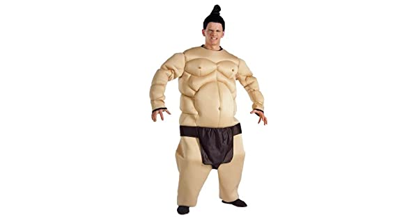 Amazon.com: Forum Sumo Wrestler Humorous Costume, talla ...