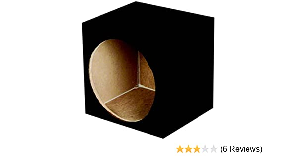 Q Power SOLO15 2HOLE Solo Series MDF Wood Carpeted Dual 15-Inch Unloaded Box