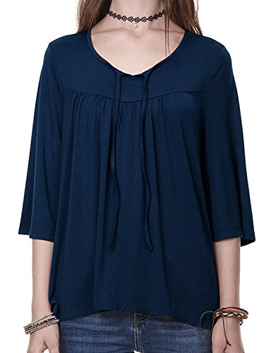 Tie Front Maternity Shirt - 3