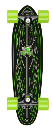 Osprey Stripe Mini Cruiser Skateboard
