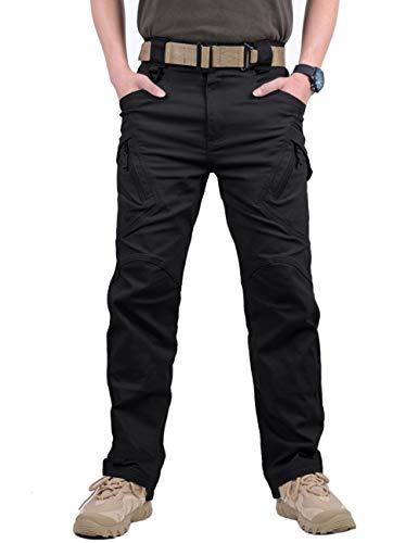 Soldier Tactical Waterproof Pants, Combat Hiking Outdoor, Mens Tactical Cargo Work Trousers, Survivor Outdoor Waterproof…