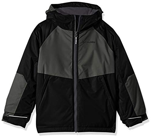 Columbia Big Boy's Alpine Action Ii Jacket, Medium, Black/Grill