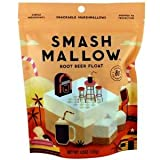 SmashMallow Snackable Marshmallows, Root Beer Float, 4.5 oz