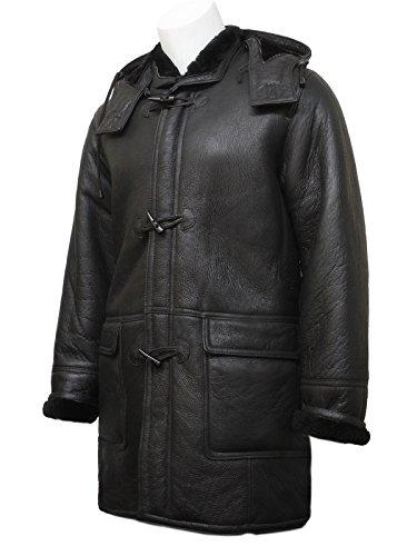 Sheepskin Shearling Coat - 8