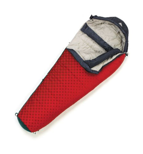Kelty Cosmic 0 Degree Synthetic Sleeping Bag, Regular , Risky Red, Outdoor Stuffs