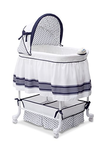 Delta Children Smooth Glide Bassinet, Marina