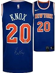 Kevin Knox New York Knicks Autographed Nike Swingman Blue Jersey - Fanatics Authentic Certified - Autographed NBA Jerseys