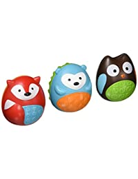 Skip Hop Explore and More Musical Egg Shaker Trio, Multi (3-piece) BOBEBE Online Baby Store From New York to Miami and Los Angeles