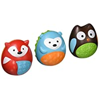 Skip Hop Explore and More Musical Egg Shaker Trio, Multi (3-piece)