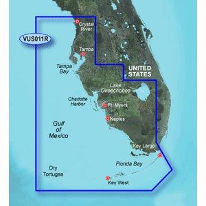 Garmin vus011r southwest florida sd card over $150 by Garmin