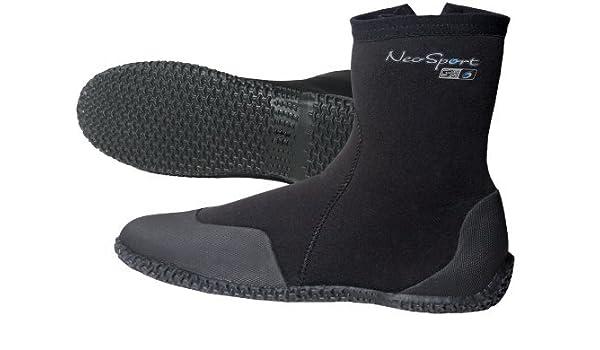 89e66b9d73cb Amazon.com   NeoSport Wetsuits Premium Neoprene 7mm Hi Top Zipper Boot by  NeoSport   Sports   Outdoors
