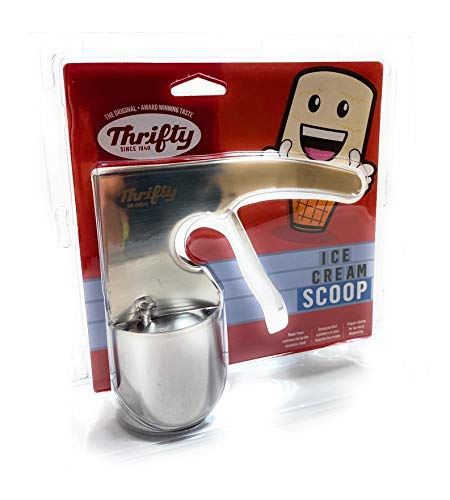 Thrifty Old Time Ice Cream Scoop Scooper Stainless Steel Rite-Aid