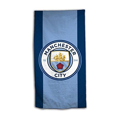 drap de bain 70 x 140 cm Manchester City