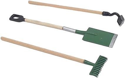 Mini Gardening Plant Pot Tools Handheld Shovel Spade Rake Gardening Work Set Kid
