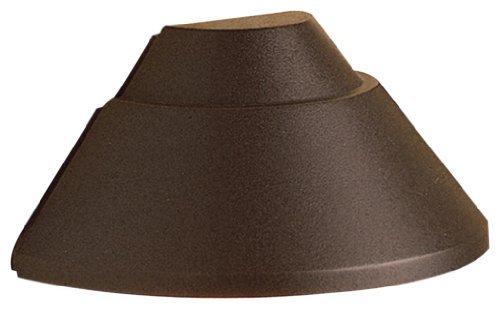 Kichler Lighting 15165AZ Mini Deck Light 12-Volt Deck and Patio Light, Architectural Bronze by Kichler
