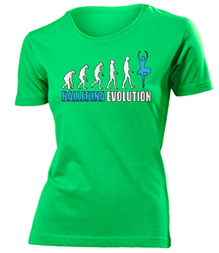 Sport - BALLERINA EVOLUTION - mujer camiseta Tamaño S to XXL varios colores verde / Azul