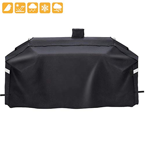 Grisun SH7000 Grill Cover for Pit Boss Memphis Ultimate Grill and Smoke Hollow PS9900 DG1100S GC7000 4in1 Combo Grill, Heavy Duty and Waterproof Pellet Gas/Charcoal Grill Cover (78 x 23 x 48 Inches)
