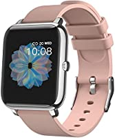 """Smart Watch, 1.4"""" Touch Screen Smartwatch,Fitness Tracker with Heart Rate Monitor, Sleep Monitor, Bluetooth Camera Music..."""