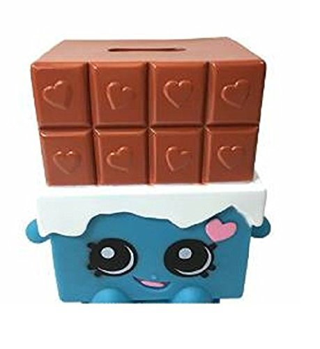 Shopkins Chocolate Bar Cheeky Molded Coin Piggy Bank For Kids