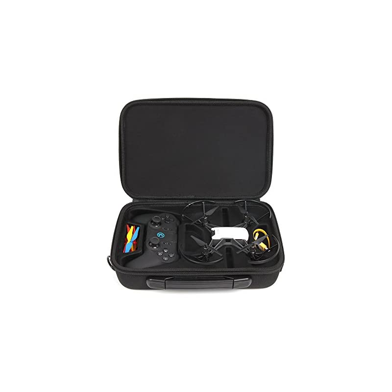 Anbee Tello Carrying Case Portable Shoulder Bag for DJI Tello Drone and Gamesir T1D Gamepad Remote Controller