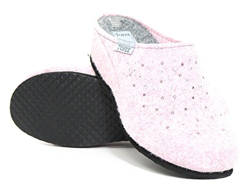 hellrose Pantoufles Chaussons Femmes Rosé 1013006 5 Hellrose Tofee wIHngqBRWW