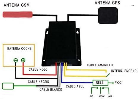 YATEK Localizador GPS -gsm para Coches, Camiones o maquinaria ...