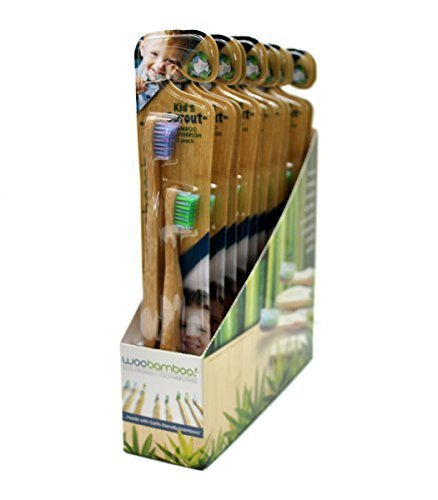 WooBamboo Toothbrush Kid's Sprout Super Soft 12-pack