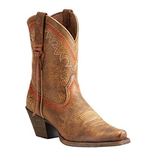 批判的に公概念(アリアト) Ariat レディース シューズ?靴 ブーツ Round Up Aztec Cowboy Boot [並行輸入品]