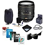 Nikon 16-80mm f/2.8-4E AF-S DX NIKKOR ED (VR) VR Lens USA Bundle with 72mm Filters & Pro Software