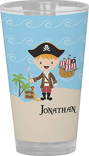 Pirate Scene Drinking/Pint Glass (Personalized) from YouCustomizeIt