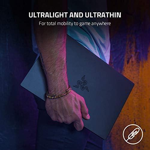 "Razer Blade Stealth 13 Ultrabook Gaming Laptop: Intel Core i7-1165G7 4 Core, NVIDIA GeForce GTX 1650 Ti Max-Q, 13.3"" 1080p 120Hz, 16GB RAM, 512GB SSD, CNC Aluminum, Chroma RGB, Thunderbolt 4"