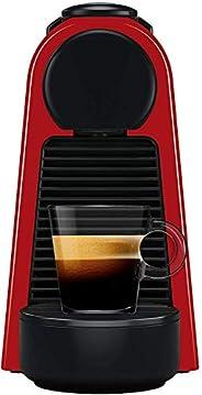 NESPRESSO Cafetera Essenza Mini, Color Roja (Incluye obsequio de 14 cápsulas de café)