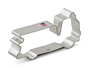 Ann Clark Firetruck Cookie Cutter - 5 Inches - Tin Plated Steel