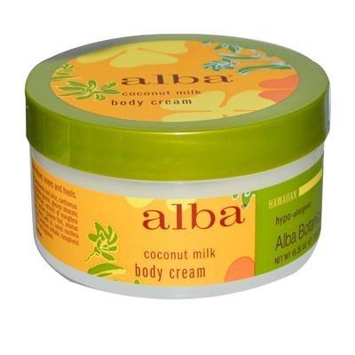 Alba Botanica Coconut Milk Body Cream 4x 6.5 Oz