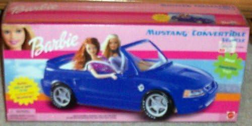 Barbie Blue Mustang Convertable Vehicle [並行輸入品]