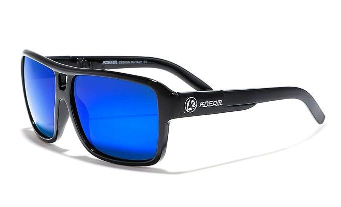 95d29d51e2 KDEAM 11 Colors Mens Sport Polarized Sunglasses Square Outdoor Riding  Goggles (C201)