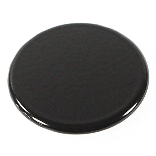 [Whirlpool Part Number 8053463: Cap, Burner (Large (Black))] (Large Burner Cap)