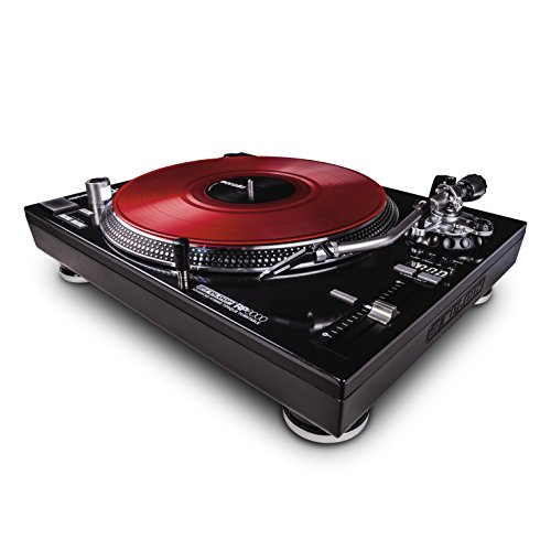 Reloop AMS-RP-8000 RP-8000 Advanced Hybrid Torque Turntable with Upper-Torque Direct Drive, Black