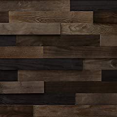 The LANDSCAPE collection is as rich as nature can be an infinite source of inspiration. Personalize your walls with DIY Peel & Stick wood paneling and add texture, volume and elegance to your decor. The multi thickness planks offer a vari...