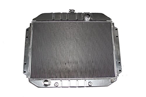 KKS8164 3 Row All Aluminum Radiator Fit 61 62 63 64 Ford Truck Pickup V8 Engines ()