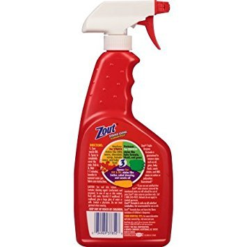 Zout Triple Enzyme Formula Action Foam Laundry Stain Remover 22 fl. oz. Bottle - 3 Pack